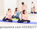 瑜伽普拉提健身 43509277