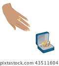 wedding ring love 43511604