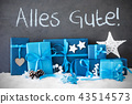 Christmas Gifts, Snow, Alles Gute Mean Best Wishes 43514573