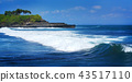 Beautiful Wave at Tanah Lot, Bali Indonesia 43517110