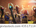 Pendet Traditional Balinese Dance in GWK 43517114