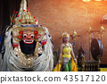 Barong Traditional Balinese Art Performance  43517120