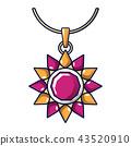 ruby necklace gemstone 43520910