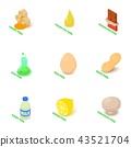 intolerant, icons, set 43521704