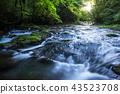 菊池溪谷 河流 河 43523708
