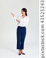 20多岁,30多岁的女商人用手,工作,工作指导, 43525243