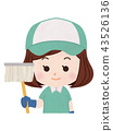 Cleaning Staff, cleanup, mop 43526136