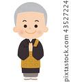 chief priest, monk, buddhist priest 43527224