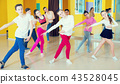Children dancing in dance hall 43528045