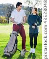 golfer woman golf 43528048