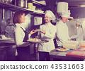 waitress, cooks, kitchen 43531663