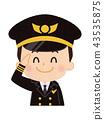 飛行員 人 人物 43535875