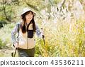 ผู้หญิงเดินป่า 43536211