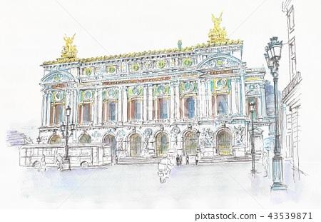 Paris Garnier Opera House 43539871