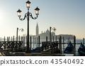 Gondolas and San Giorgio 43540492