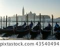 Gondolas and San Giorgio 43540494