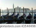 Gondolas and San Giorgio 43540496