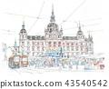 오스트리아 그라츠 시청 앞 광장 43540542