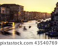 Sunset over Grand Canal 43540769