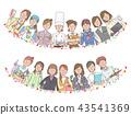 各种职业的女性 43541369