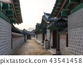 historic architecture in gyeongbokgung palace  43541458