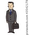 business-man, businessman, businessperson 43542179