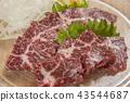 เนื้อ,ม้า,ซาชิมิ 43544687