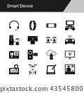 Smart Device icons. 43545800