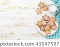 milk, cookie, food 43547507