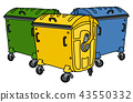 container recycling bin 43550332