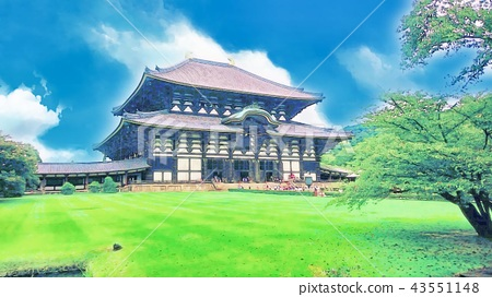 Todaiji Temple of Great Bodens 43551148