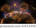 firework celebration abstract 43552440