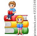 school children happy 43553349