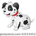 dalmatic dog cartoon 43553452