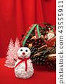 ตุ๊กตาหิมะ,ต้นคริสต์มาส,ซานต้า 43555911