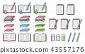 套书,笔记,笔记,书写仪器 43557176
