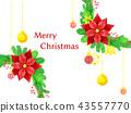 พวงดอกไม้คริสต์มาส 43557770