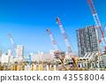 公寓/建築的大型建築工地 43558004