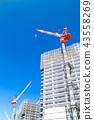建築工地 起重機 鶴 43558269