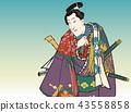 우키요에, 일본 전통화, 목판화 43558858