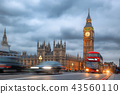 Big Ben in the evening, London, United Kingdom 43560110