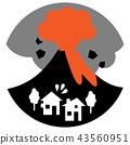 활화산, 분화, 화산 폭발 43560951