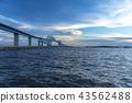 Gate Bridge Tokyo Bay Tokyo Haneda Runway Route Bridge Sea Ship Pass Gate 43562488