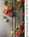 Variety of tomato sauces 43564472