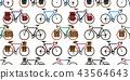 bicycle, seamless, pattern 43564643