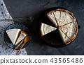 Homemade fresh milk cream cake and cheesecake 43565486