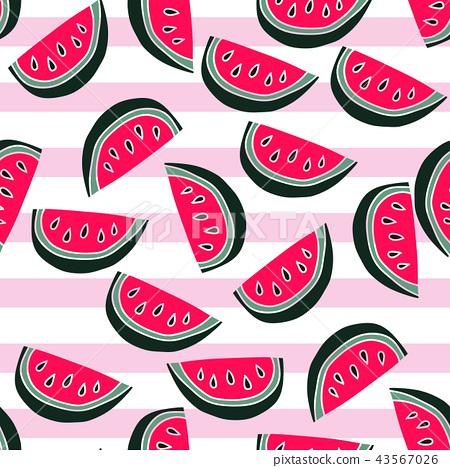 Watermelon pattern 43567026