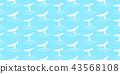 shark tail seamless pattern fin vector whale 43568108
