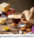 Dutch holiday Sinterklaas festive breakfast 43568640