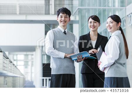 School after school high school student male female 43571016